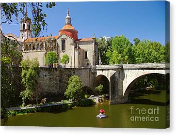 St Goncalo Cathedral Canvas Print by Carlos Caetano