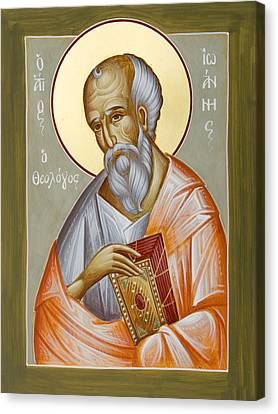 St John The Theologian Canvas Print