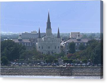 St. Louis Cathedral 2 Canvas Print