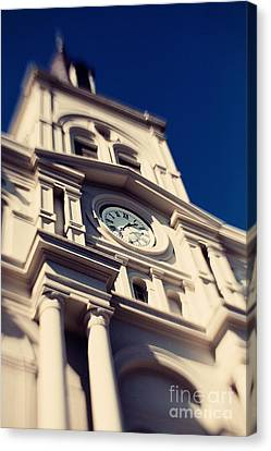 St Louis Cathedral Canvas Print by Erin Johnson