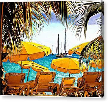 St. Maarten Canvas Print