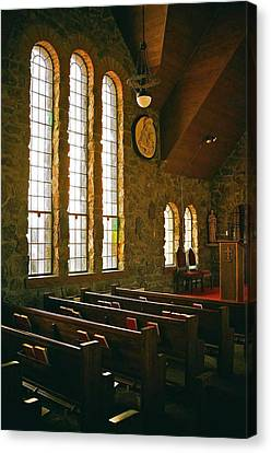 Canvas Print featuring the photograph St Malo Church by David Pantuso