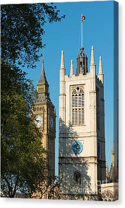 St Margarets Church Westminster  Canvas Print by Andrew  Michael