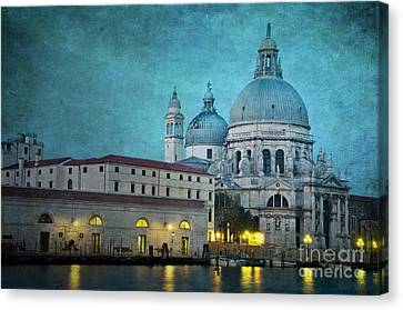 St Maria Della Salute From St Mark's  Canvas Print by Marion Galt
