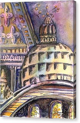 St Marks Of Venice Canvas Print