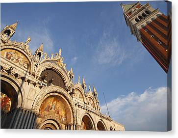 St. Markss Basilica And Campanile Off Canvas Print by Trish Punch