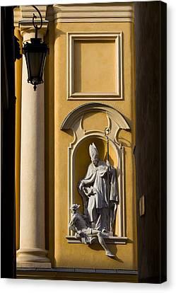 St Martin's Church Architectural Details Canvas Print