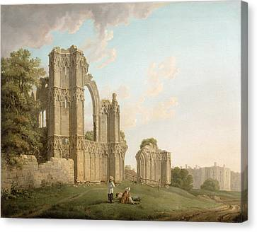 St Mary's Abbey -york Canvas Print