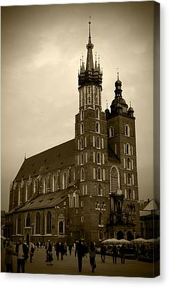 St. Mary's Basilica Canvas Print by Kamil Swiatek