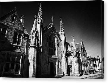St Marys Roman Catholic Church Inverness Highland Scotland Uk Canvas Print by Joe Fox