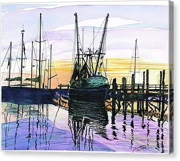 St. Marys Sunset Canvas Print