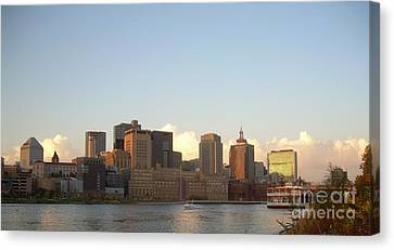 St. Paul Skyline Canvas Print