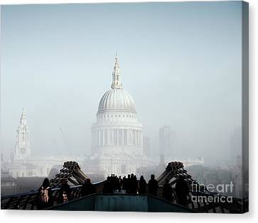 St Paul's Cathedral Canvas Print by Pixel  Chimp