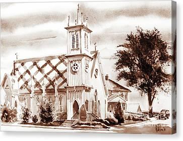 St. Pauls Episcopal Church IIi Canvas Print by Kip DeVore