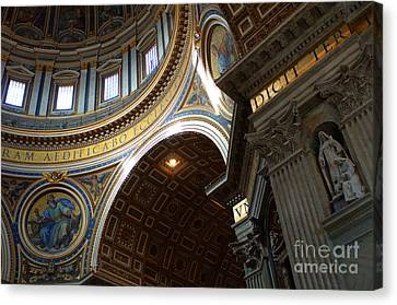 St Peters Cathederal 4 Canvas Print by Bob Christopher