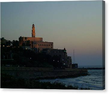 St. Peter's Church Old Jaffa - Israel Canvas Print by Joshua Benk
