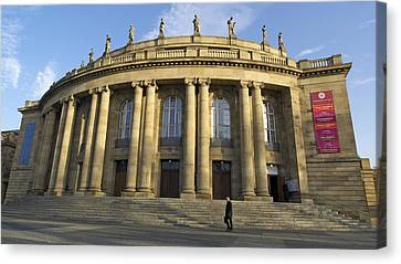 Staatstheater State Theater Stuttgart Germany Canvas Print by Matthias Hauser