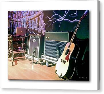 Stage Set Canvas Print