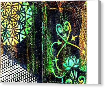 Stained Glass Canvas Print by Jann Sage