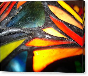 Stained Glass One Canvas Print