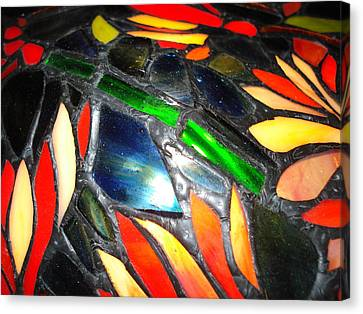 Stained Glass Three Canvas Print