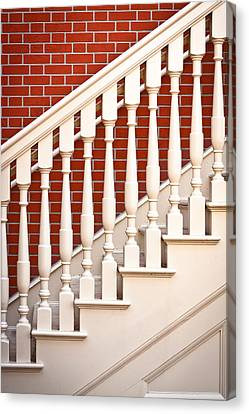 Stair Case Canvas Print by Tom Gowanlock