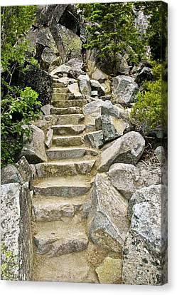 Staircase To Eagle Falls Lake Tahoe Canvas Print by LeeAnn McLaneGoetz McLaneGoetzStudioLLCcom