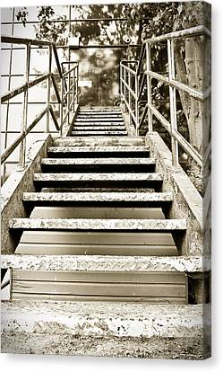 Stairs Canvas Print by Tom Gowanlock