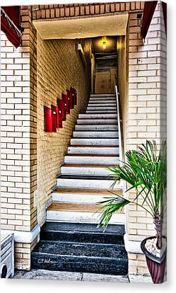 Stairway Canvas Print by Christopher Holmes