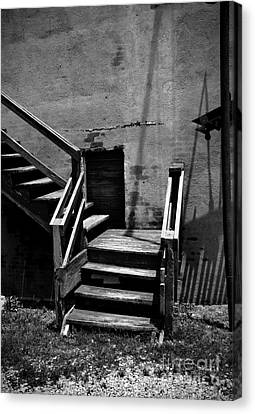 Stairway Left Canvas Print by Fred Lassmann