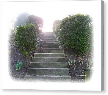 Stairway To A New Beginning Canvas Print by Brian Wallace