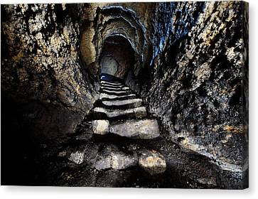 Stairway To Light Canvas Print by Denis Taraskin
