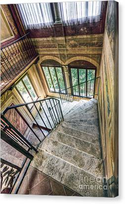 Stairways Canvas Print by Andreas Jancso
