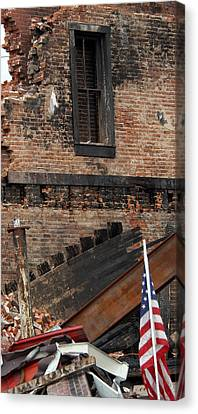 Canvas Print featuring the photograph Stand By Me by Wanda Brandon