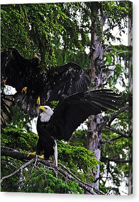 Standing Strong. Canvas Print