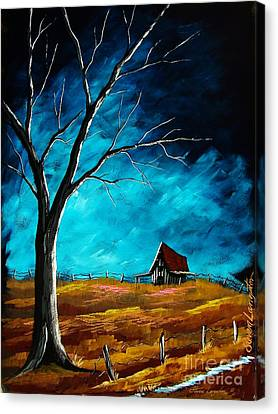 Canvas Print featuring the painting Standing Strong by Steven Lebron Langston