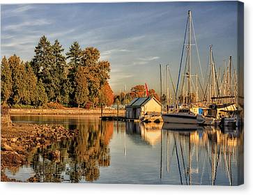 Stanley Park - Vancouver Canvas Print by Long Nguyen