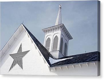 Star Barn Roof Canvas Print