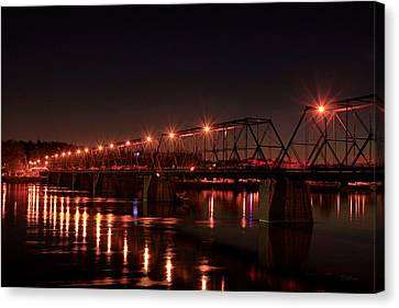 Star Bridge Canvas Print