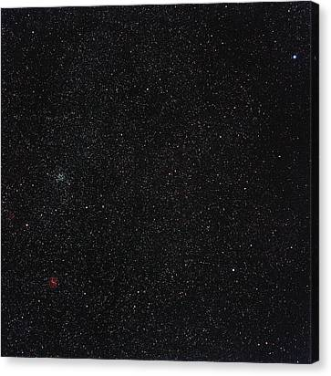 Star Cluster M35 Canvas Print by Eckhard Slawik