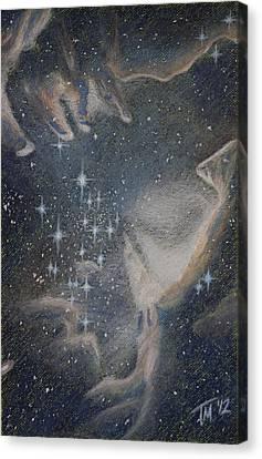 Star Cluster Ngc 602 Canvas Print by Thomas Maynard