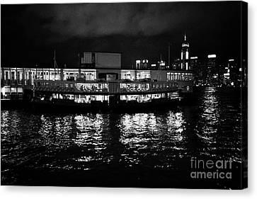 Tsui Canvas Print - Star Ferry Tsim Sha Tsui Terminal Kowloon Hong Kong Hksar China by Joe Fox