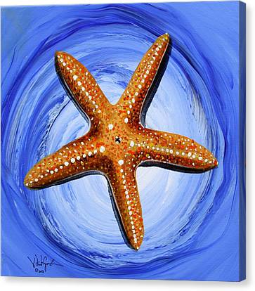 Star Of Mary Canvas Print by J Vincent Scarpace