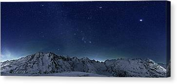 Star Panorama Canvas Print by RICOWde