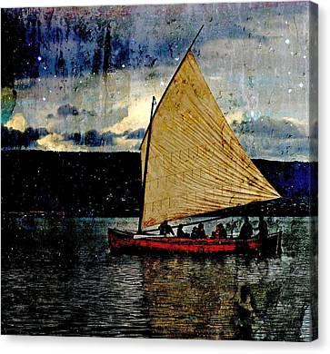 Star Ship Canvas Print by Michele Cornelius