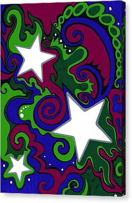 Star Slime Canvas Print by Mandy Shupp