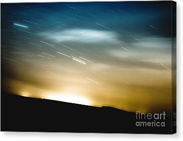 Star Trails Canvas Print by Roth Ritter