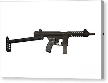 Star Z70b 9mm Submachine Gun Canvas Print by Andrew Chittock