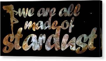 Carina Nebula Canvas Print - Stardust by Nikki Marie Smith