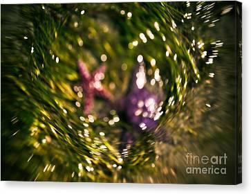 Starfish Swirl Canvas Print by Venetta Archer